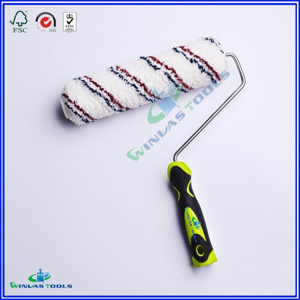 paint roller with rubber handle