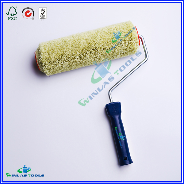 Green refill paint rollers handle